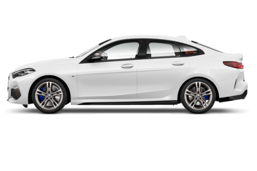 BMW 2 Series Gran Coupe for hire from ZooCars