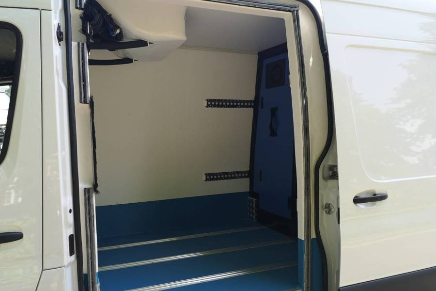 MWB Dual Compartment Freezer Van for hire from ZooCars